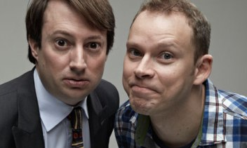 Mark and Jeremy, played by David Mitchell and Robert Webb.
